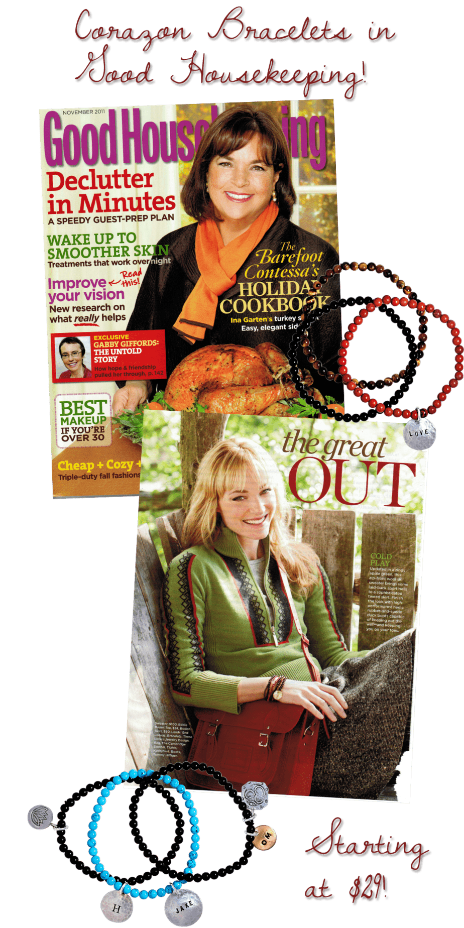 Three Sisters Jewelry Featured in Good Housekeeping