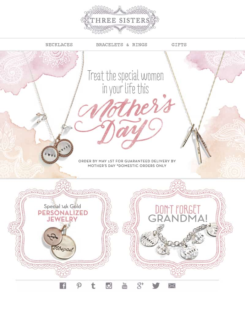 Mothers Day Jewelry Gifts