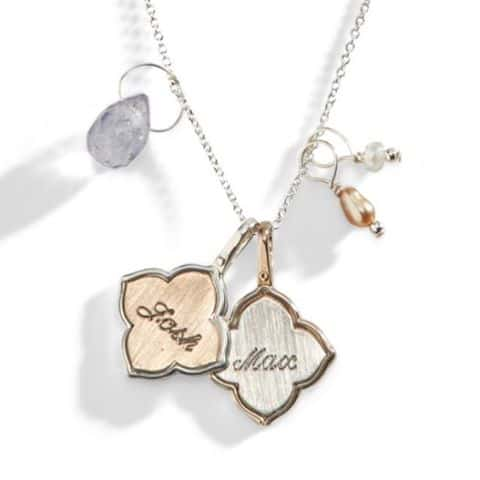 Hand Stamped Personalized Jewelry Featured in Real Simple Magazine