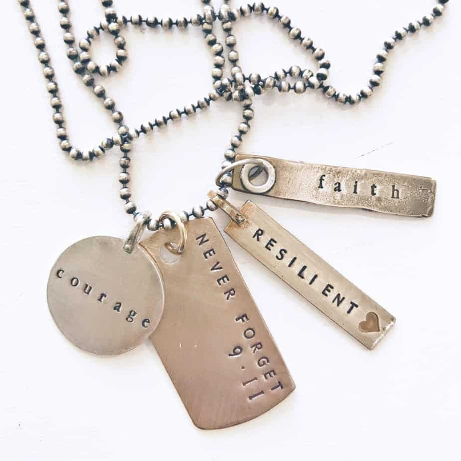 Always Remember 9 11 Necklace