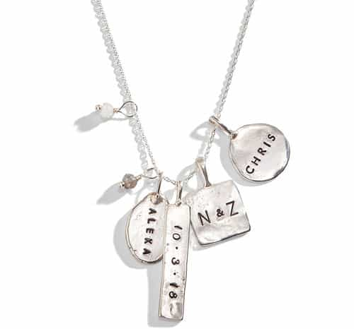 a00b7ae9aae9 Three Sisters Jewelry specializes in hand-stamped necklaces