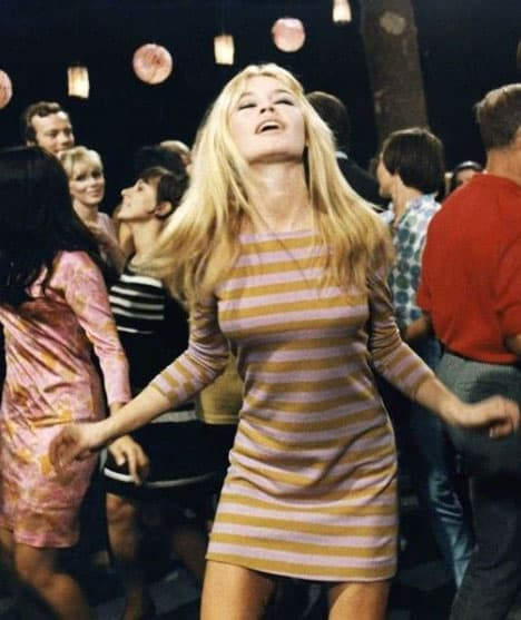 Lady dancing in a party
