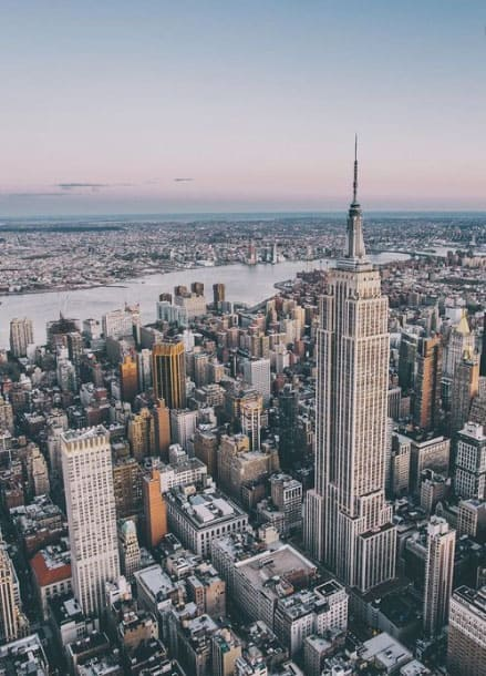 NYC arial photo
